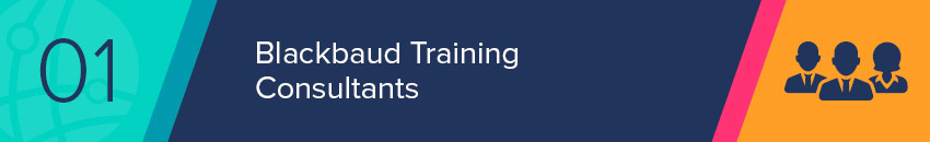 Experience nonprofit consultants can provide your nonprofit will comprehensive Blackbaud training.