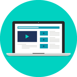 Blackbaud offers online training resources for their products as part of the software package.