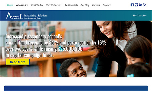 The experts at Averill can help build an annual fund strategy for your nonprofit.