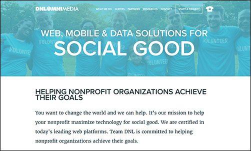 TeamDNL is an ideal nonprofit consultant for tech, strategy, and marketing projects.