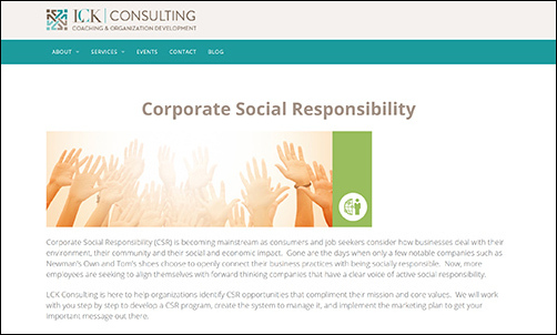 LCK Consulting is a consulting firm for nonprofits.