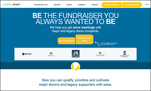 MarketSmart is a top nonprofit consultant for prospect research support and services.